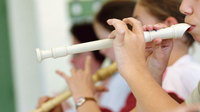 Flute a bec